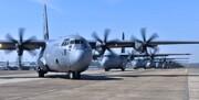 هواپیمای «سی-۱۳۰» آمریکا وارد اوکراین شد