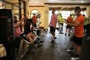 تصاویری از تمرین پرسپولیسیها در گوا