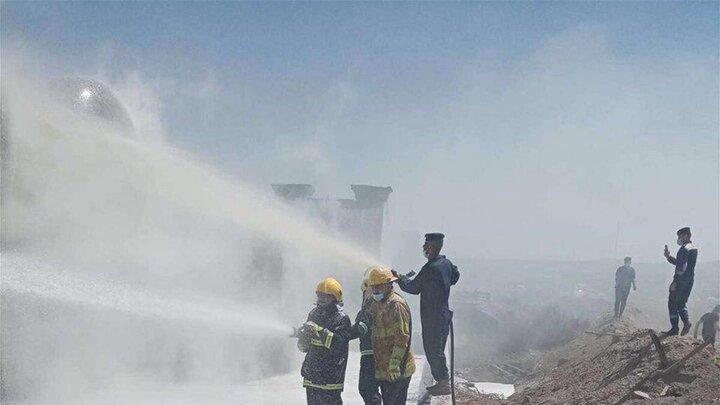 وقوع دو آتش سوزی در پایتخت عراق