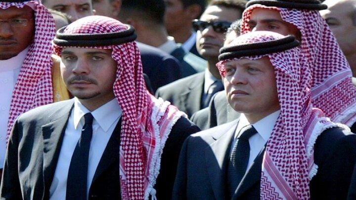حضور پادشاه اردن و برادرش ناتنیاش در انظار عمومی پس از کودتای نافرجام