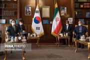 نخستوزیر کره جنوبی با علی لاریجانی دیدار کرد