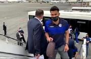 تصاویری از سفر بازیکنان استقلال به عربستان / فیلم
