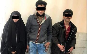 اعضای باند «سرخپوست» در مشهد دستگیر شدند/ عکس