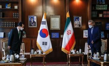 دیدار نخستوزیر کره جنوبی با علی لاریجانی / تصاویر