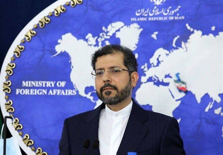 اظهارنظر سخنگوی وزارت امور خارجه درباره حادثه نطنز / فیلم