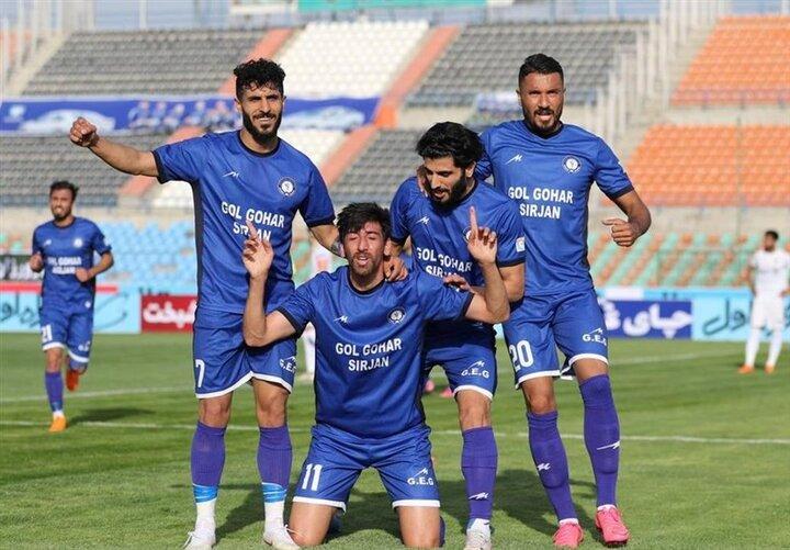 جدول ردهبندی لیگ برتر بعد از توقف سپاهان مقابل تیمِ فکری
