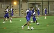 ویدئویی از نخستین تمرین تیم استقلال در عربستان