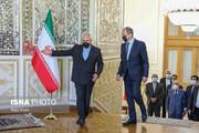 دیدار ظریف با وزیر امور خارجه روسیه / تصاویر