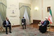 وزیر خارجه روسیه با روحانی دیدار کرد