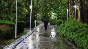 بارش باران دو روزه در ۳۱ استان کشور