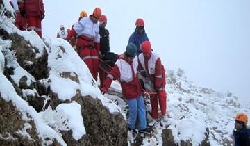 نجات کوهنورد گرفتار شده در بیستون / فیلم