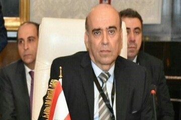 وزیر خارجه لبنان با سفیر سوریه دیدار کرد