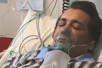ترخیص حسام نواب صفوی از ICU با کف و سوت! /فیلم