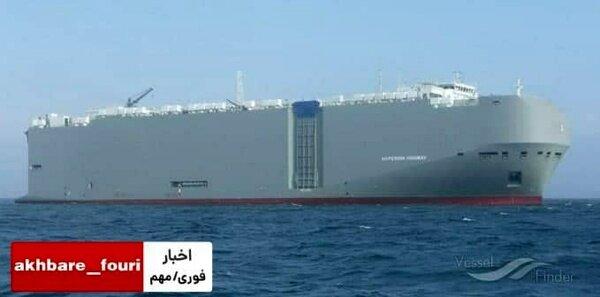 ادعای منابع صهیونیستی: کشتی اسرائیلی توسط موشک ایرانی هدف قرار گرفته است
