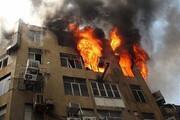 نجات جان مردم از آتشسوزی با لودر / فیلم