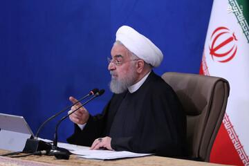 روحانی: پاسخ خباثت صهیونیستها و جنایتکاران را با غنی سازی ۶۰ درصد میدهیم / فیلم