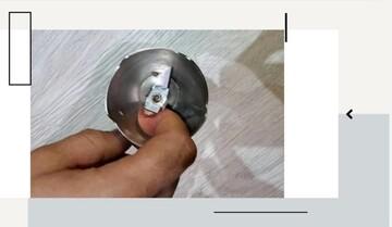 گیر کردن انگشتان دست زن کاشانی در گوشتکوب برقی / عکس