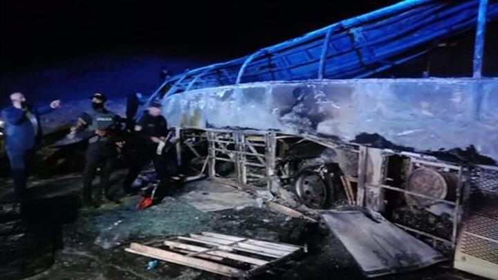 ۲۰ کشته بر اثر سانحه رانندگی در مصر