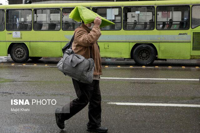 گزارش هواشناسی ۲۵ فروردین ۱۴۰۰/ امروز در ۱۳ استان رگبار باران همراه با تگرگ پیشبینی میشود