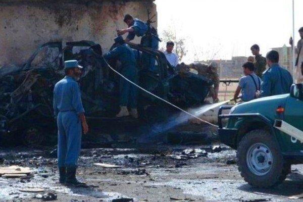 ۲۵ کشته و زخمی در پی انفجار بمب در فراه افغانستان