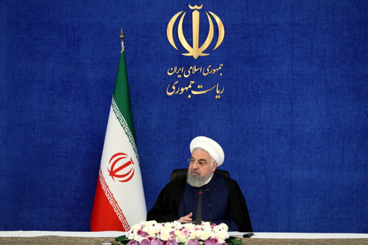 روحانی: از مذاکره وین نترسید | مگر ما با عراق و صدامی که هشت سال با ما جنگید مذاکره نکردیم؟/ فیلم