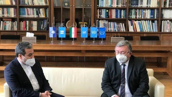 دیدار عراقچی با رییس هیات مذاکرهکننده روسیه