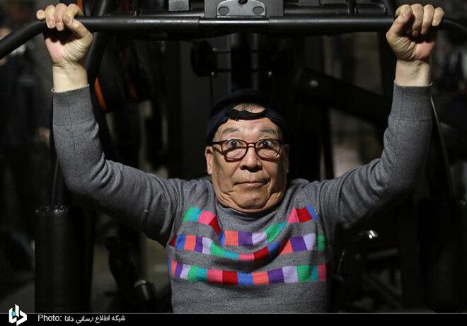 گزازرش تصویری از باشگاه ورزشی پیرمردان