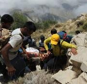 نجات کوهنوردان بروجردی از ارتفاعات کپرگه