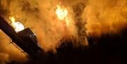 انفجار کوره شمش در کارخانه فولادی یزد
