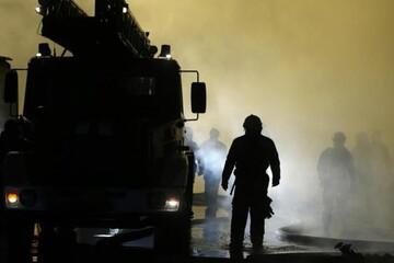 مرگ ۵ کودک روس بر اثر آتشسوزی ساختمان مسکونی