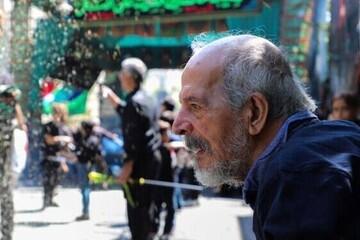 تشییع پیکر محسن قاضی مرادی در بهشت زهرا / فیلم