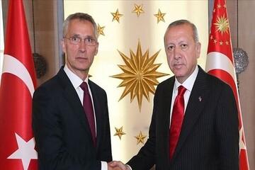 تماسی تلفنی اردوغان با دبیرکل ناتو