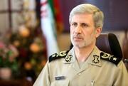 وزیر دفاع در پیامی روز ارتش را تبریک گفت