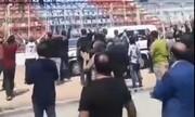تشییع پیکر نادر دست نشان در استادیوم وطنی قائمشهر / فیلم