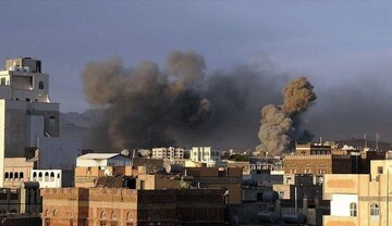 بمباران مناطقی در یمن توسط جنگندههای ائتلاف سعودی