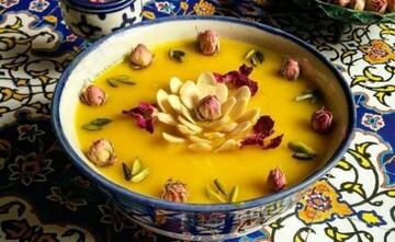 تر حلوای شیرازی خوشمزه برای افطار + طرز تهیه