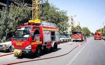 """آتش سوزی در پاساژ """"مهستان"""" در خیابان کارگر جنوبی /جزئیات"""