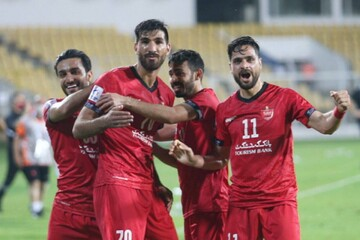شکست سنگین الریان قطر مقابل پرسپولیس
