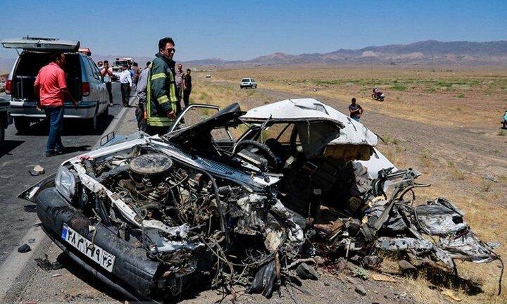 پزشکی قانونی آمار تلفات تصادفات در نوروز ۱۴۰۰ را اعلام کرد