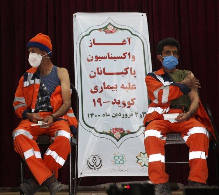 استفاده از سهمیه واکسن پاکبانان در علی آباد کتول هم اتفاق افتاد!