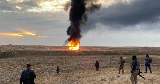 وقوع انفجار در ۲ چاه نفت در کرکوک عراق