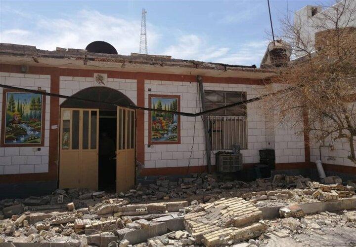 میزان خسارت آثار تاریخی بوشهر پس از زلزله ۵.۹ ریشتری اعلام شد