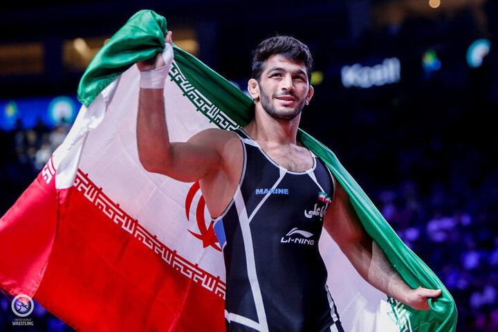 کشتی آزاد ایران با ۳ طلا بر سکوی نخست آسیا ایستاد