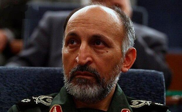 مراسم تشییع سردار حجازی برگزار شد