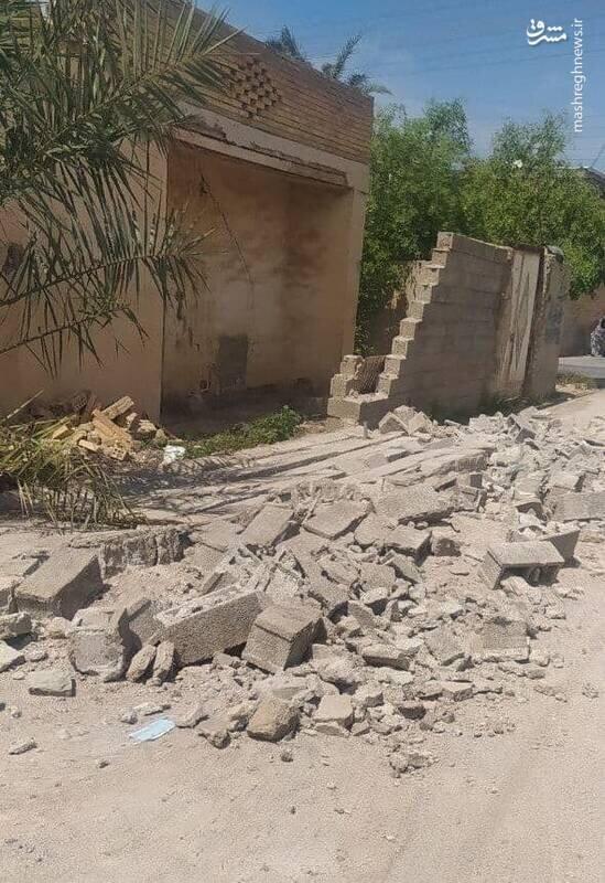 نخستین تصویر از زلزله در بندرگناوه
