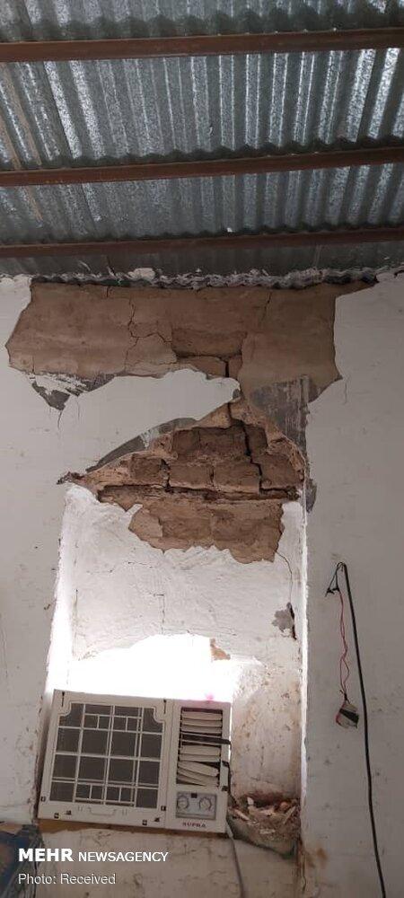 اولین تصاویر از خسارت زلزله در گناوه