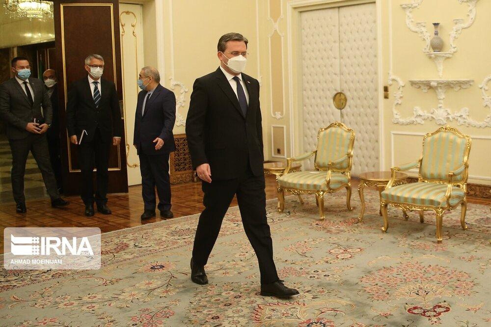 دیدار وزیر امور خارجه صربستان با رییس جمهوری
