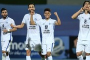 آرش رضاوند، بهترین بازیکن دیدار استقلال با الشرطه