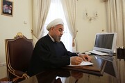پیام تسلیت روحانی برای درگذشت سردار حجازی