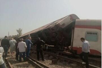 ۱۶ کشته در پی خروج قطار از ریل در مصر